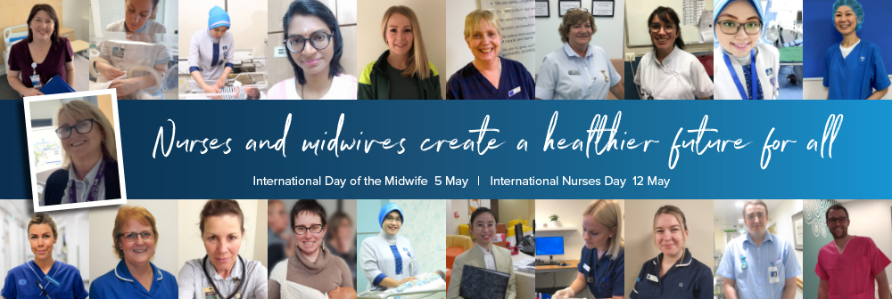 Nurses and midwives create a healthier future for all